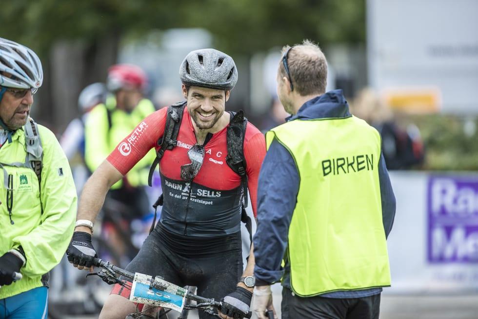 Kristoffer Ylven Westgaard i mål på Birken for andre gang. Foto: Pål Westgaard