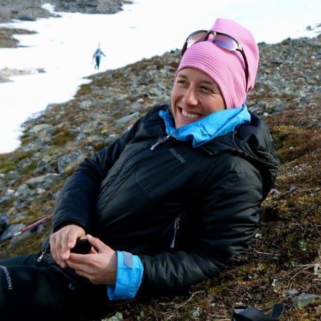 Cecilie Harr Moen, styreleder i Norsk naturguideforbund