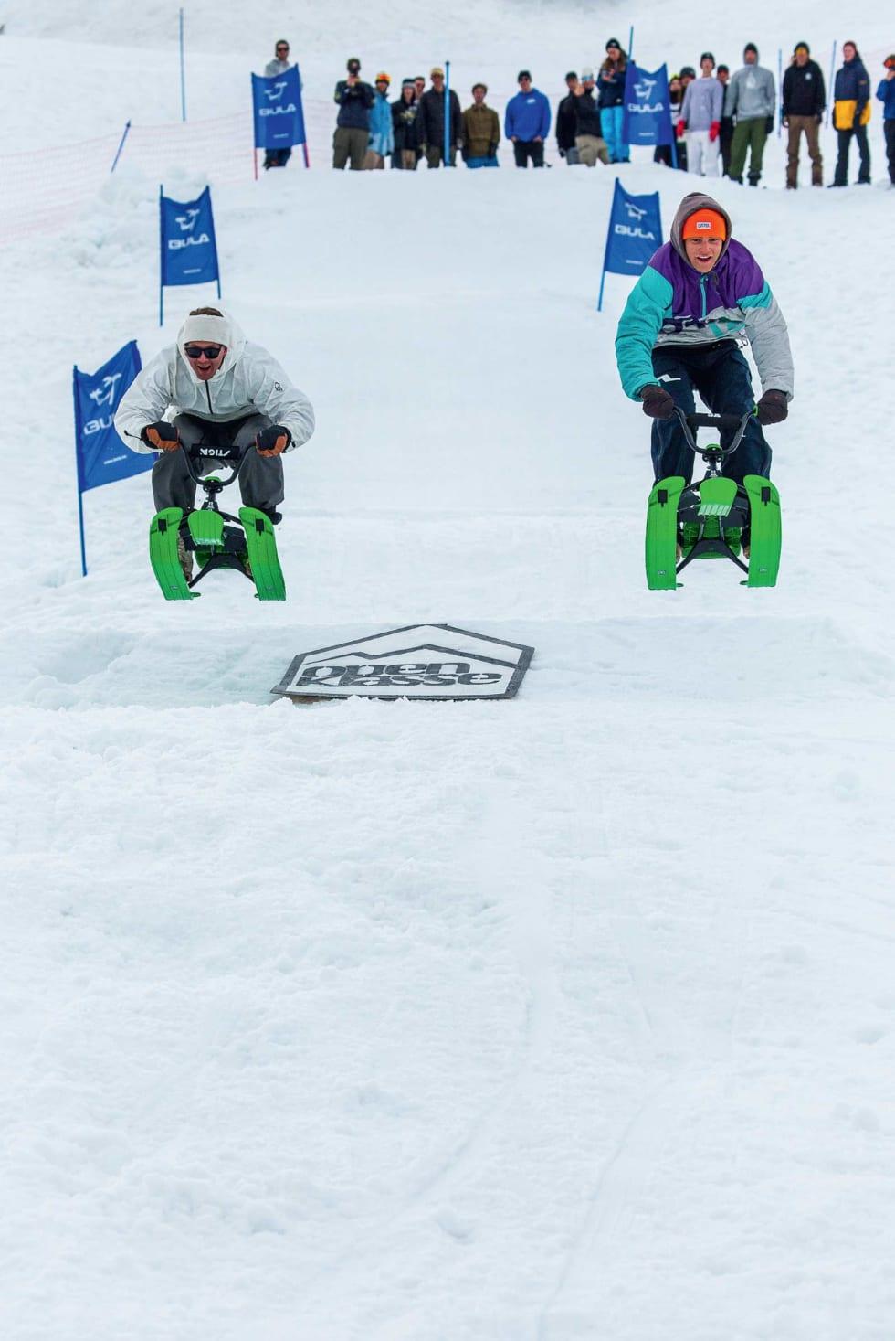 KJELKE: Stiga-race har blitt en av de mest prestisjefylte konkurransene under Open Klasse.