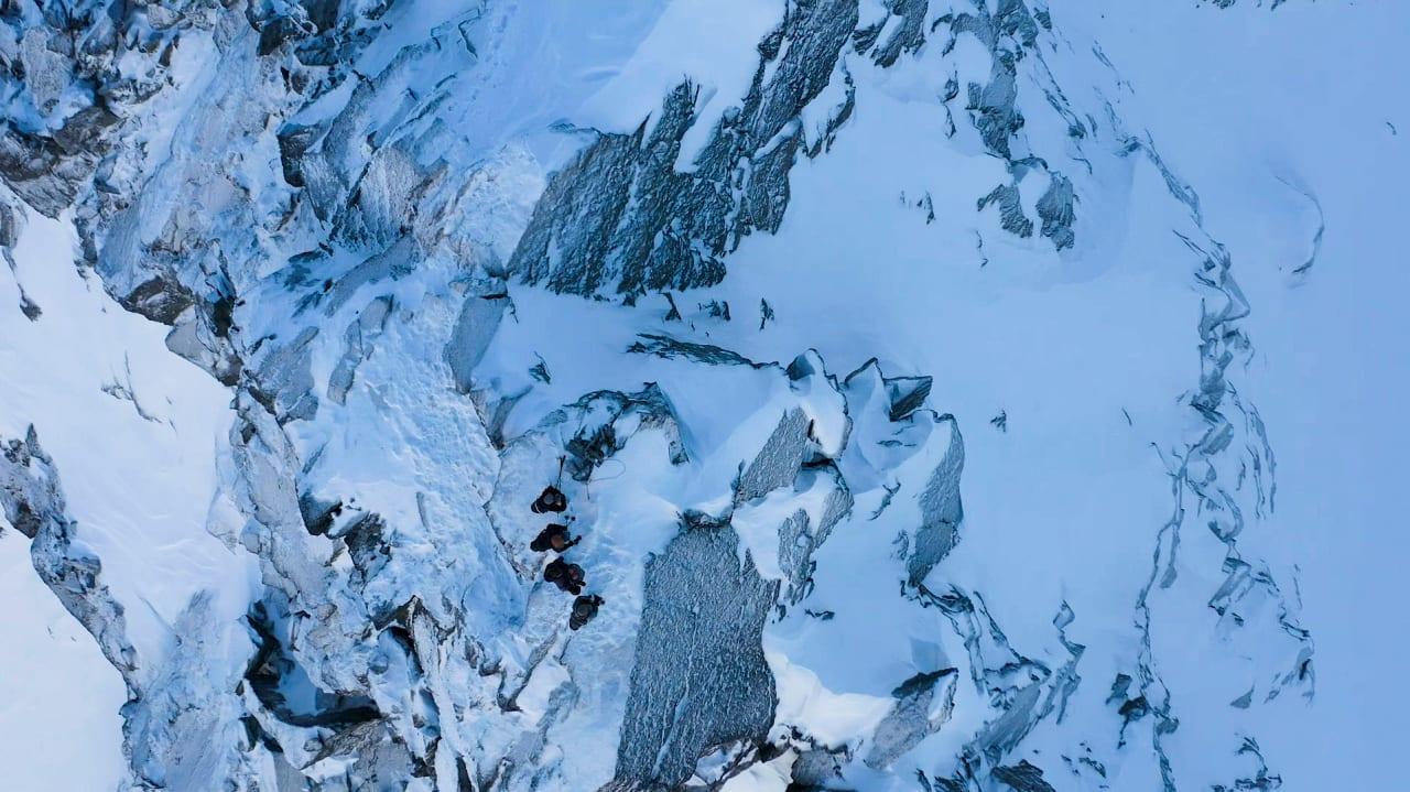 Turtruser på toppen av fjell