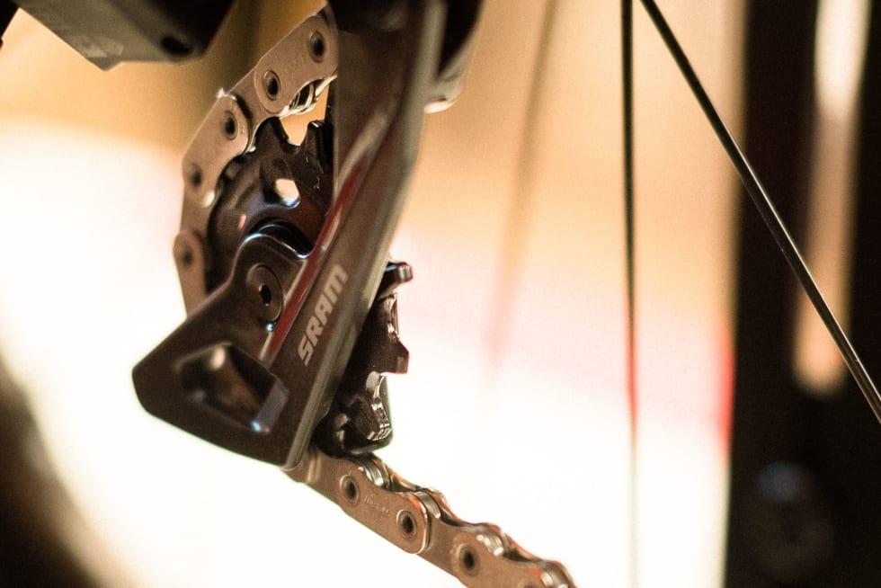 STØRRE: Trinsehjulene har nå 12 tenner i stedet for 11.