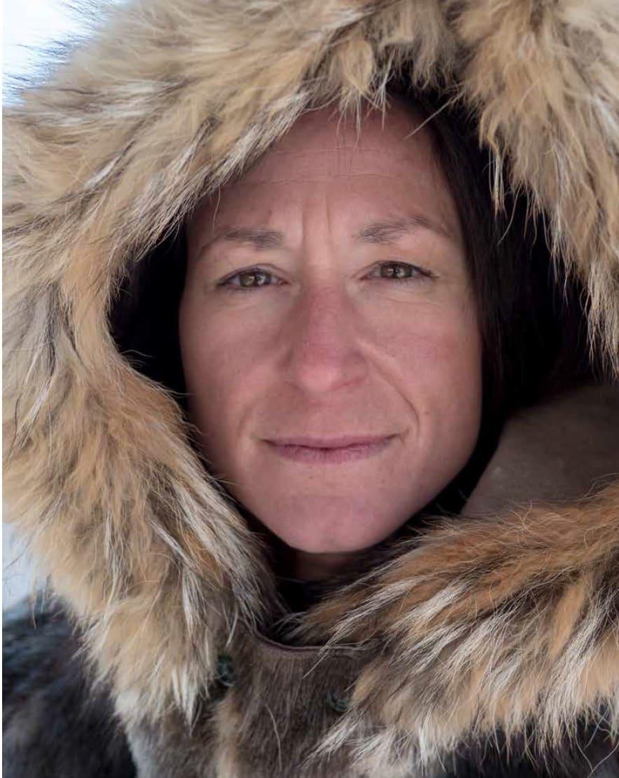 RASKESTE KVINNE: Tur-retur Sydpolen vel og merke. Johanna Davidsson tok flere reokorder på sin ekspedisjon.  Foto: Kyle O`Donoughe