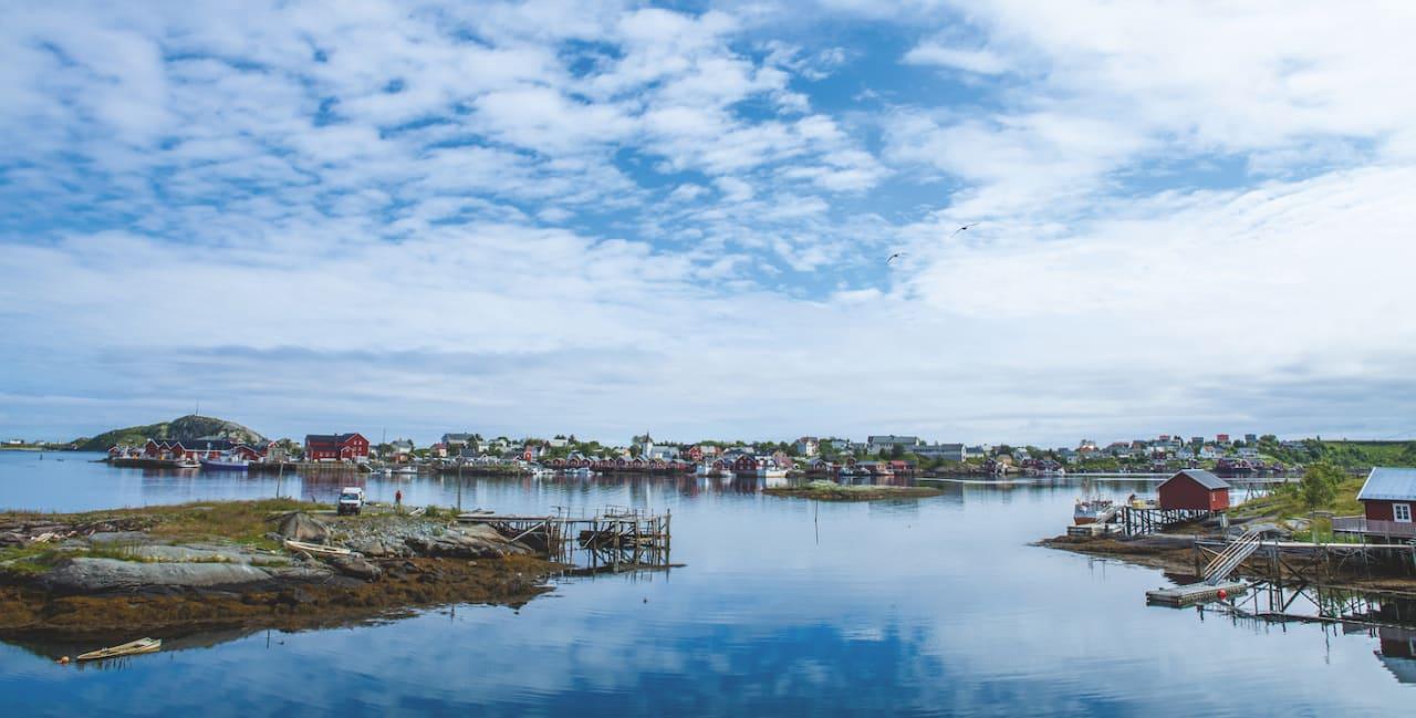 Norge på langs med elsykkel __ _Lofoten, Hamnøya-kopi