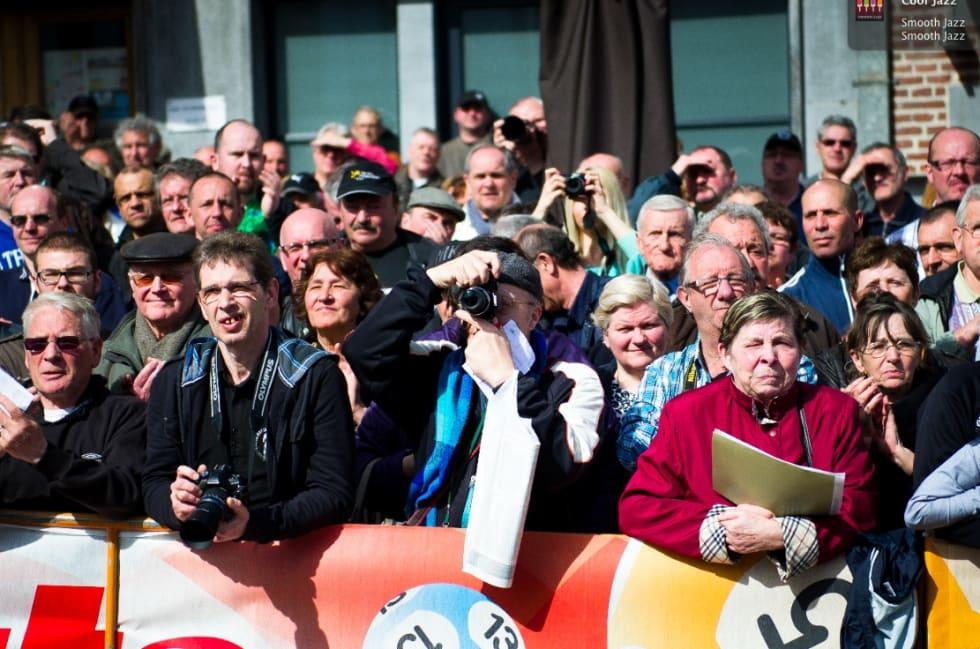 HEIAGJENG: Dette er gutta som vil bivåne deg om du sykler Flèche Wallone for amatører.