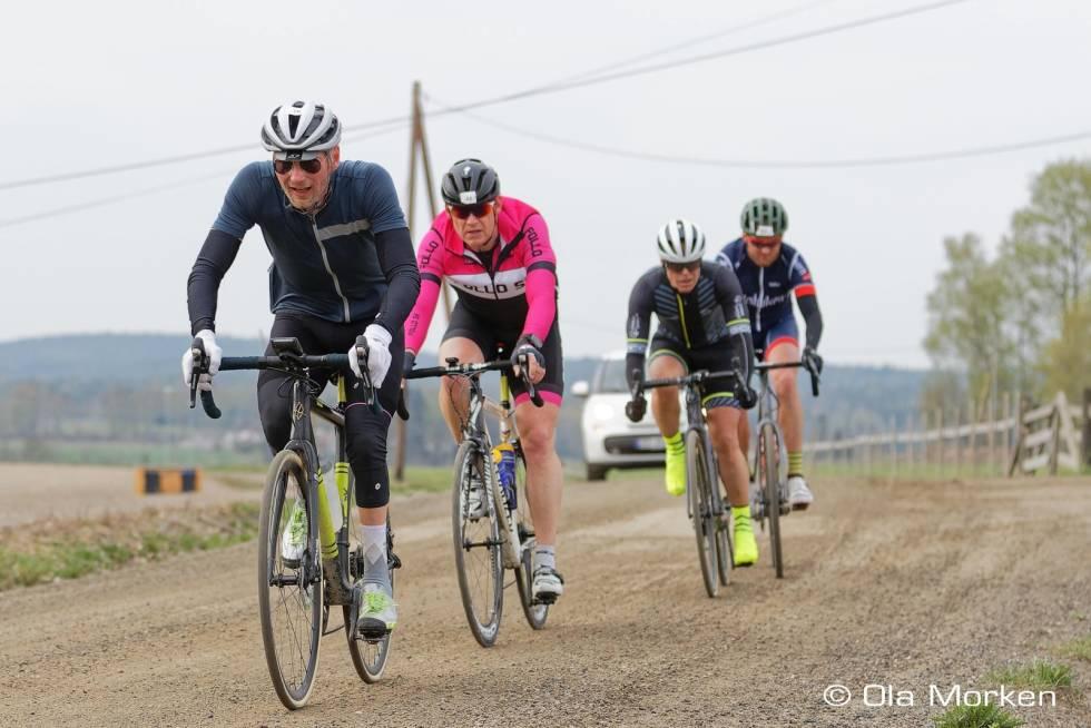 Landeveisykling er bra trening for hodet og kropp