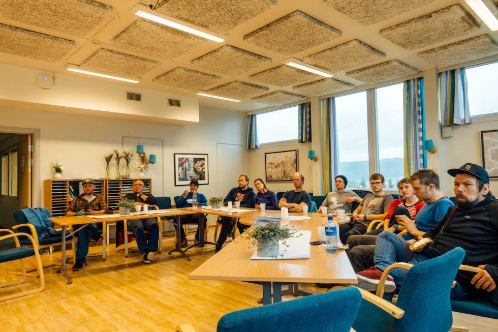 NOTS Tromsø stibyggerkurs class - Foto Rekkje Stiutvikling 1400x933