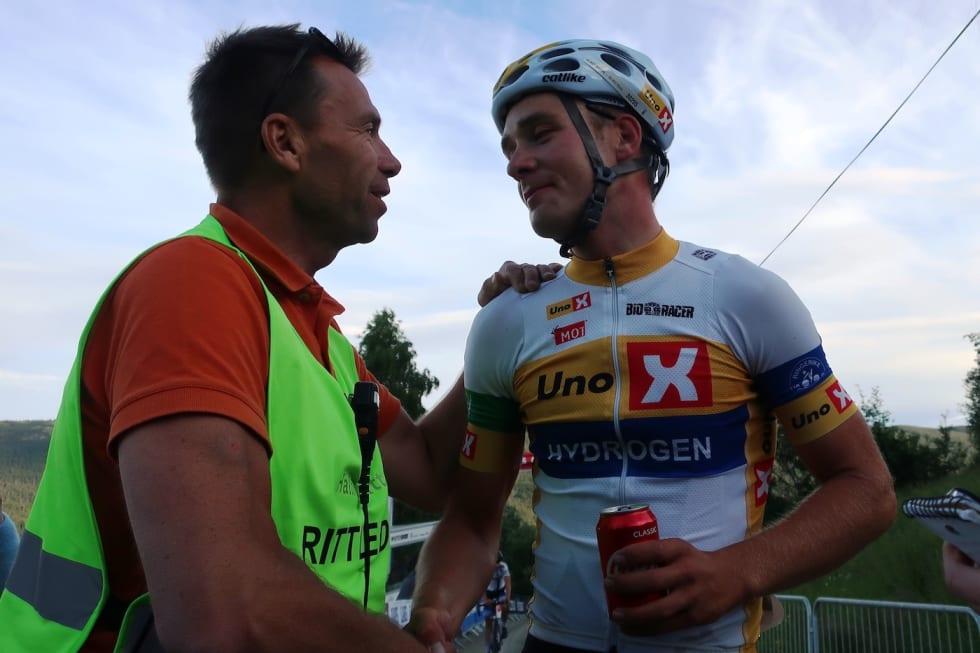 Ole Christian Nymoen - Audun Fløtten Tour de Hallingdal stage 1 2017 - Murdoch 1400x933