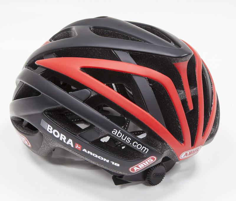 Image-ABUS becomes helmet sponsor of pro cycling team Bora-Argon 18