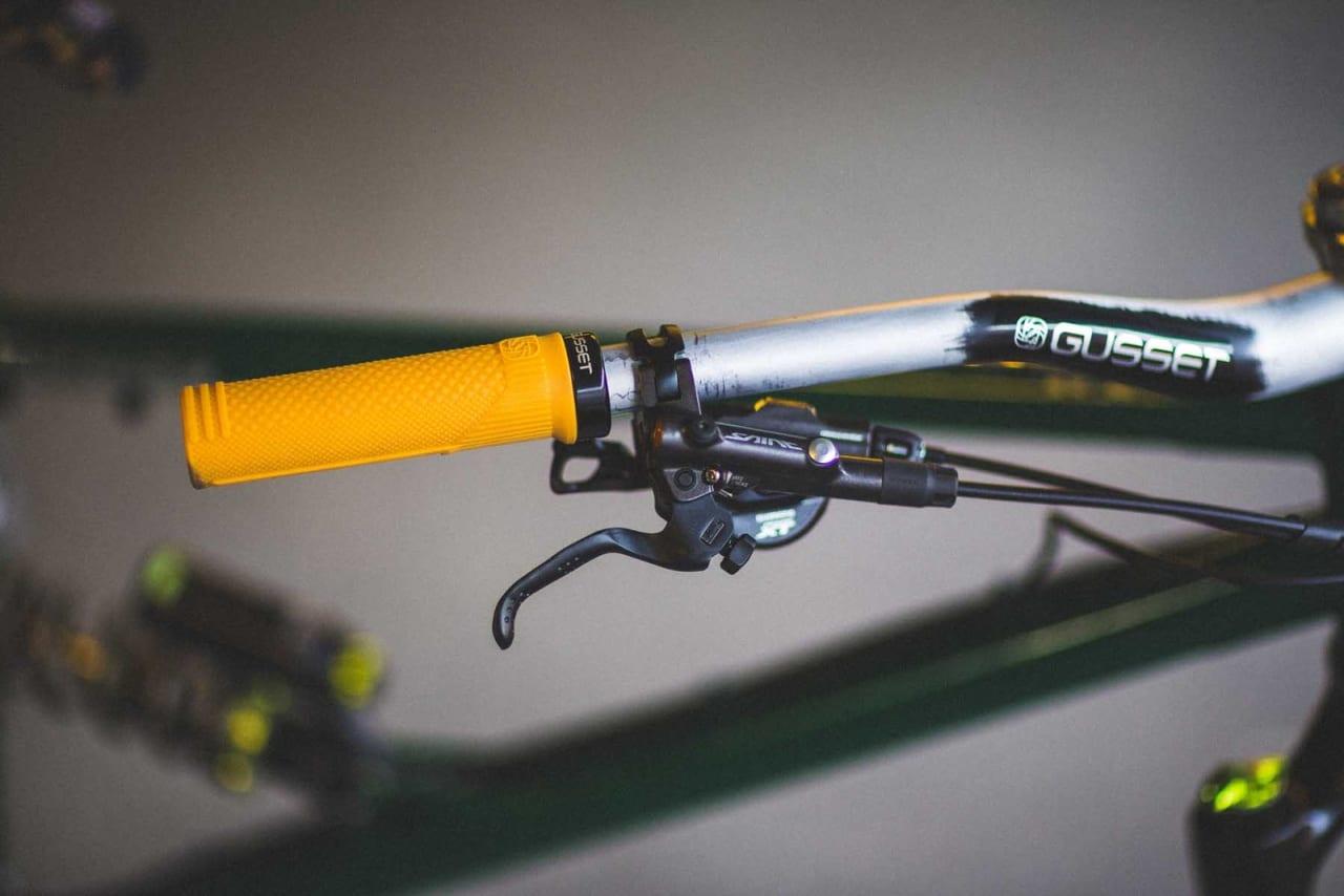 UTFOR: Saint-bremsene gir nok stoppekraft for Magnus. Foto: Kristoffer H. Kippernes