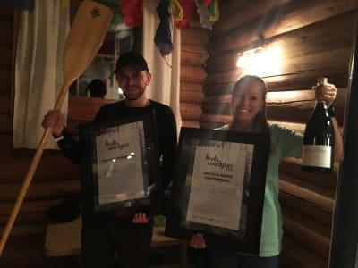 Marius Fuglestad ble årets eventyrer, mens Ingvild Marie Settemsdal fikk prisen i kategorien Årets Rookie.