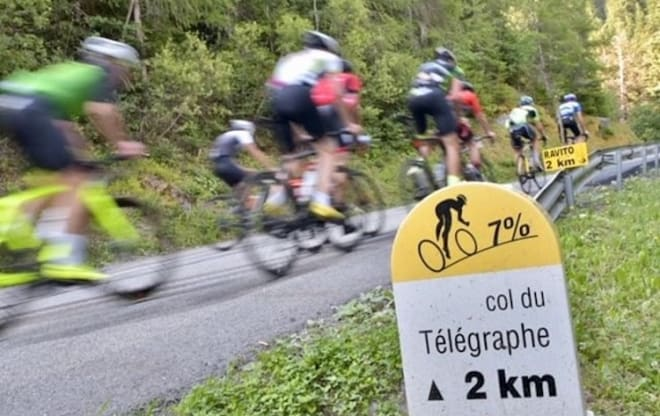 Col du Telegraphe. Foto: Gran Fondo World Tour