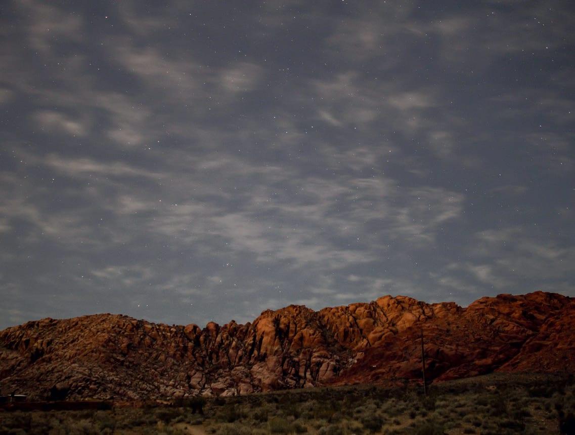 NATT: Temperaturen på dagtid kan ofte bli høy. Kvelds - og nattsessions blir derfor naturlig. Foto: Aaron Matinez