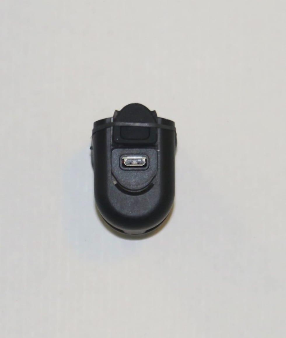 ENKEL TILGANG: USB-inngangen er på motsatt side av på/av-knappen. Den er lett tilgjengelig.