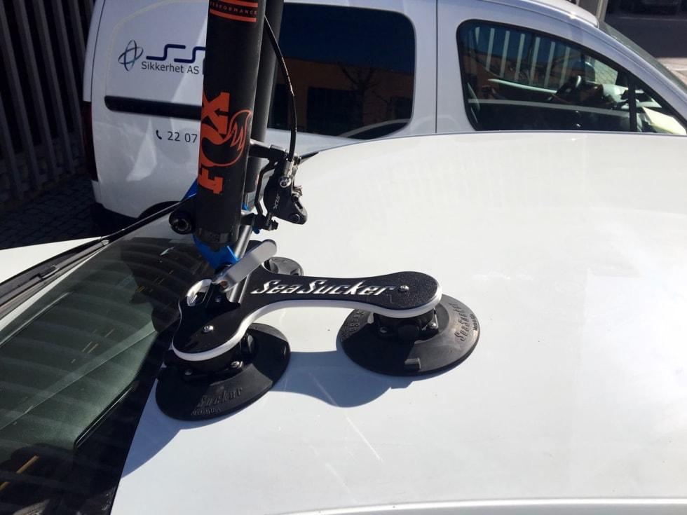 FORK-UP: Veksler du mellom 9mm og 15mm kan du bruke en Fork-up-adapter.