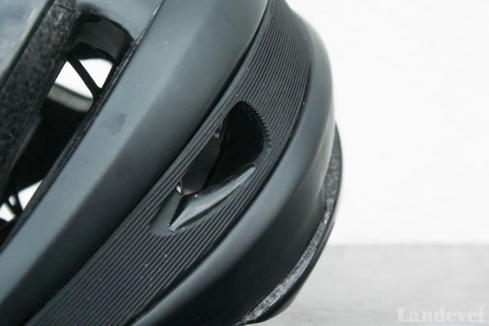 SWOOSH: Den tette stripen i hjelmen er marginalt annerledes enn originalen Synthe.