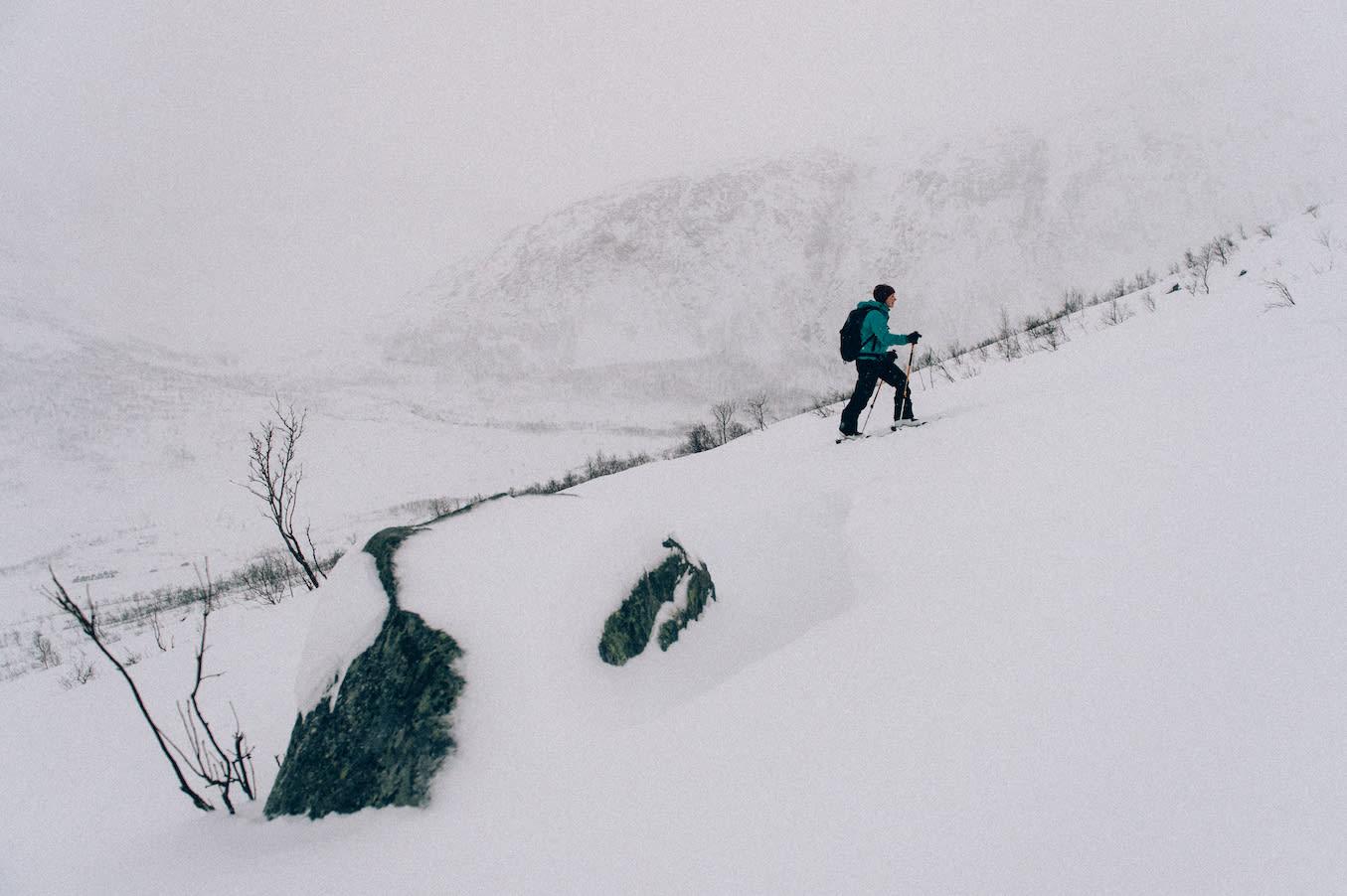TRENINGSSENTERET: Kattfjordeidet er Tromsøs mest komprimerte toppturmål. Et turmål for de fleste dagene. Foto: Sjur Melsås
