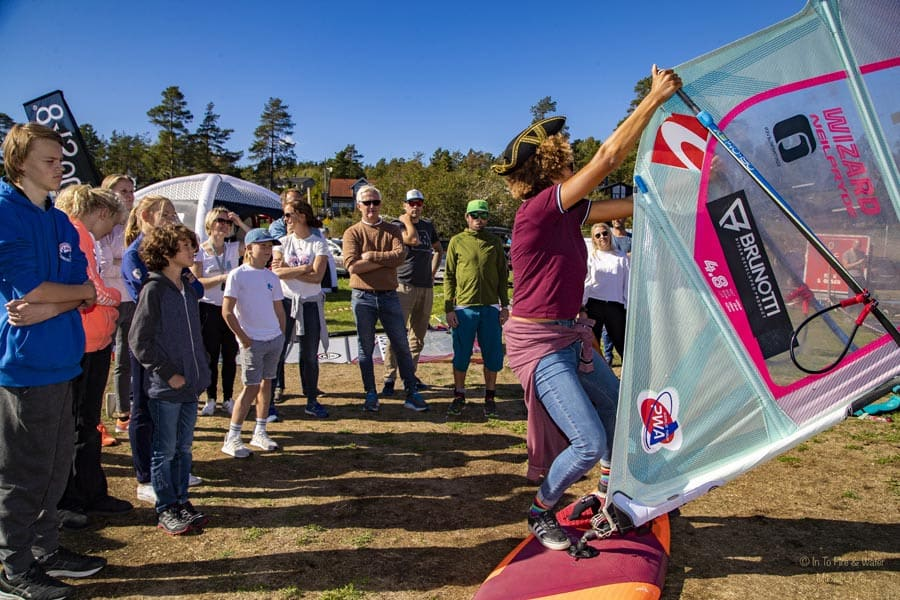 16 ganger verdensmester: Sarah-Quita Offringa returnerer til Møvik for å inspirere nye og erfarne windsurfere. Foto: In To Fire & Water / Mikael Linder / odajohanne.com