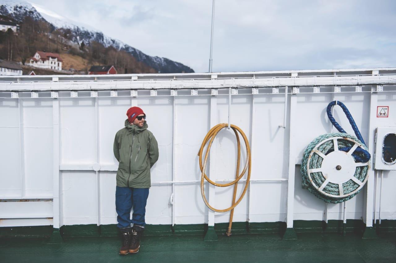 IKKE SHITFUCK: Jonsson er mest kjent for sine edits fra drittføre i alpene. Noe lignede forhold fant han ikke i våre alper.