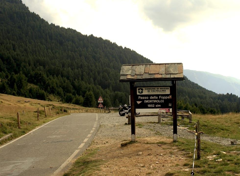 ØDE: Fint lite skjer på toppen av den legendariske bakken Mortirolo. Foto: Wikimedia Commons.