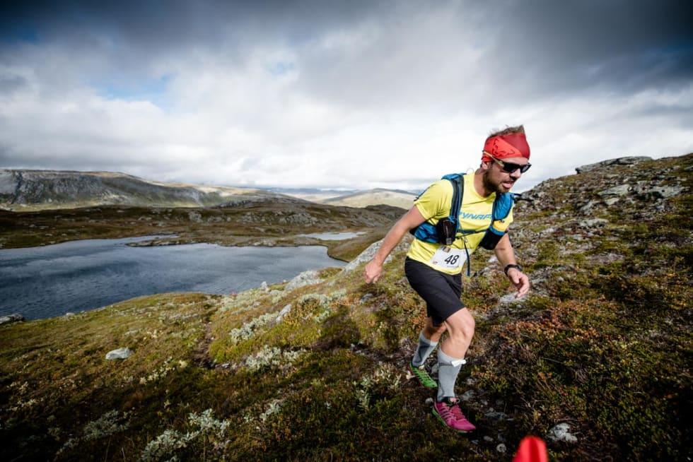 Trollheimen Fjellmaraton arrangeres for fjerde året. Foto: Arrangør