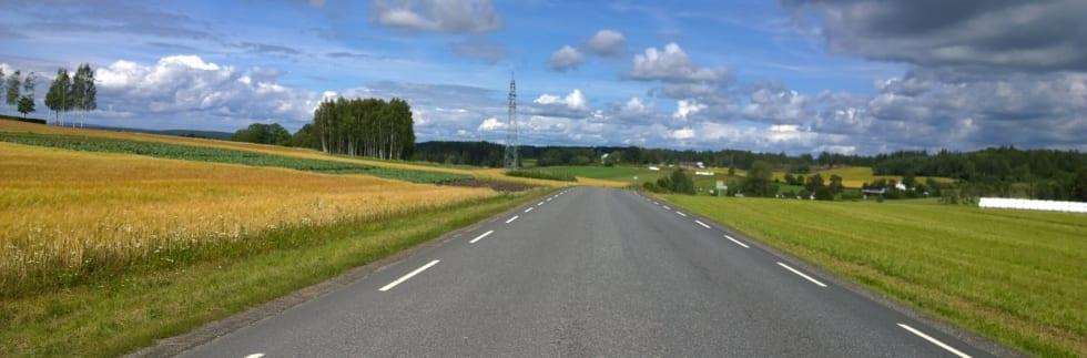KULTURLANDSKAP: Follo består av et landskap tilrettelagt for bønder og syklister. Foto: Jonas Orset