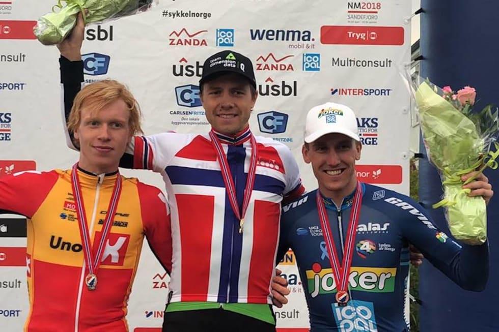 Andreas Leknessund - edvald Boasson Hagen - Kristoffer Skjerping NM tempo 2018 - NCF 1200x800