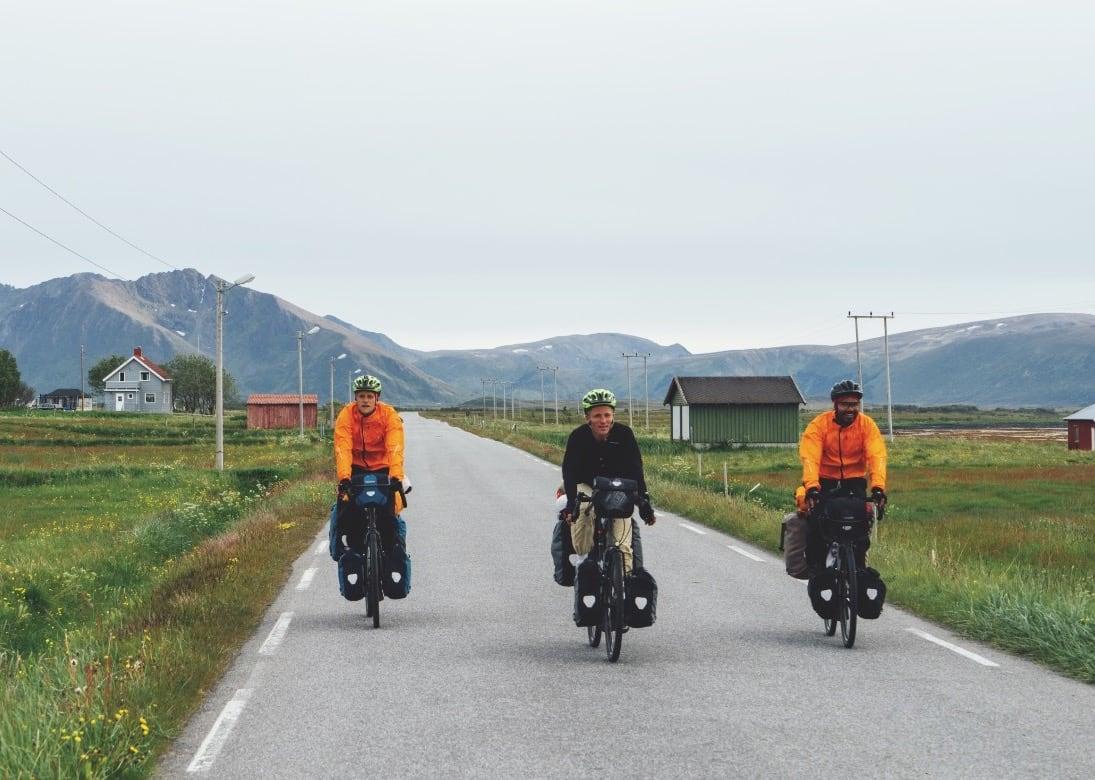 UNDERVEIS: Andøya sitt storslåtte landskap, deilige vindretning og hyggelige folk gjorde denne dagen til en av de mest minneverdige på turen.