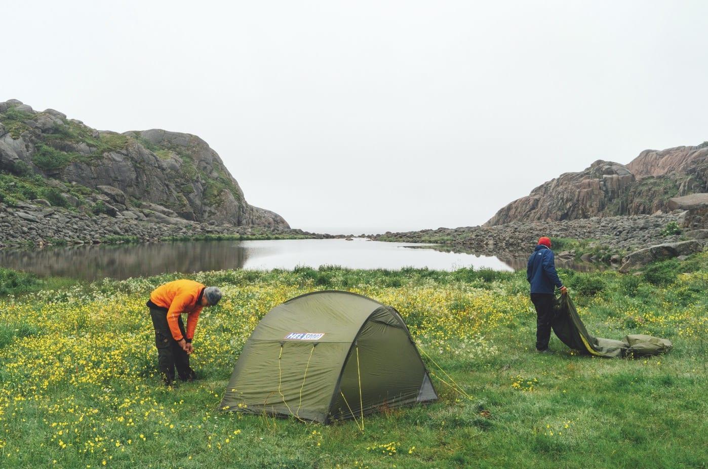 GRØNT OG SKJØNT: Paradiset ved Kalle i Lofoten er ett av verdens aller fineste steder.
