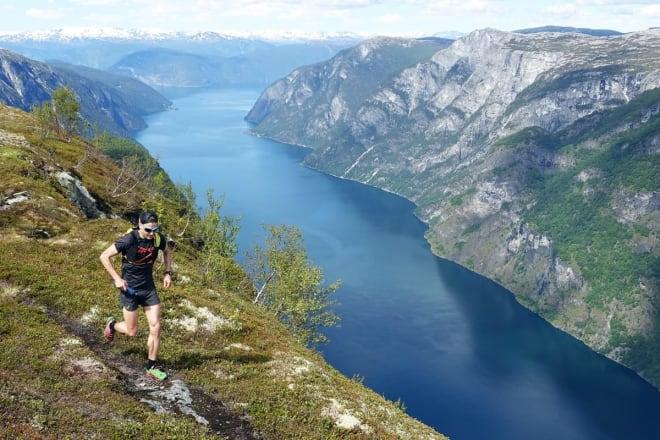 FJELLØPING: Lars Erik Skjervheim er en av Norges mest rutinerte fjelløpere. Foto: Tore Meirik