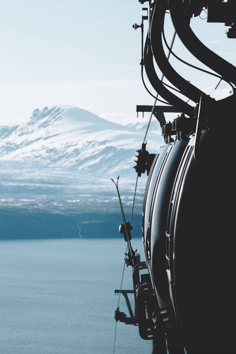 SISTE REIS: I sommer bugger Narvik ny gondol. Gamla har gitt mange gode opplevelser.
