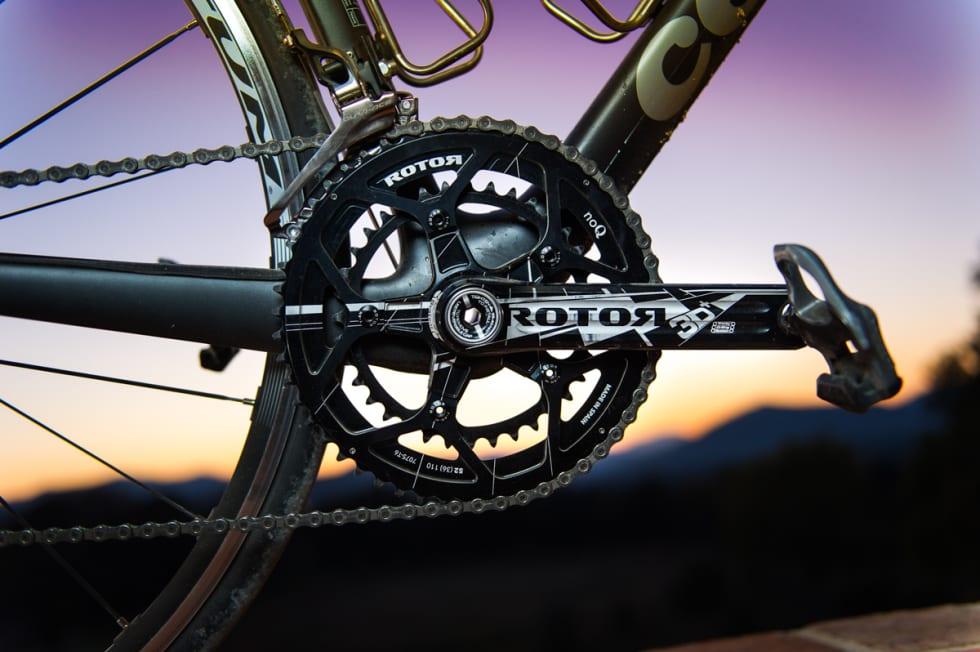 SPANJOL: Cervélo spekker syklene sine med 3D-kranker fra spanske Rotor.