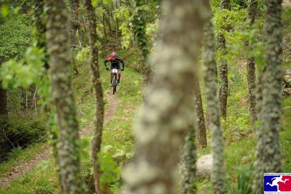 FIN SKOG: Etappene i La Rioja Bike Race er varierte.