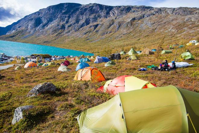 Høstfargene er på plass når Fjellfilmfestivalen går av stabelen. Foto: Thor Håkon Ulstad