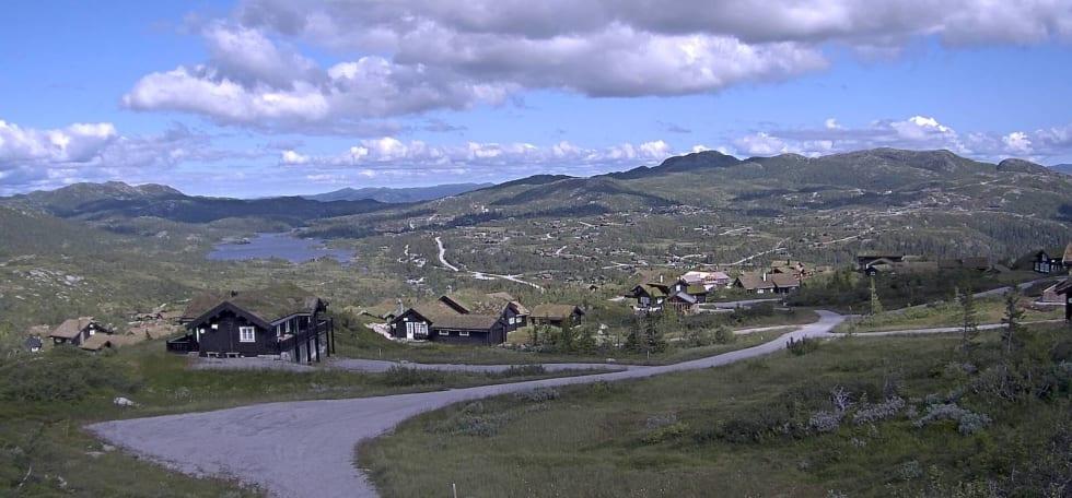 I dette området skal det bygges stier for et tosifret millionbeløp. Foto: Høgevarde AS
