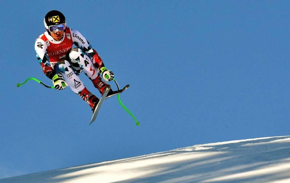 van Deer Marcel Hirscher ski