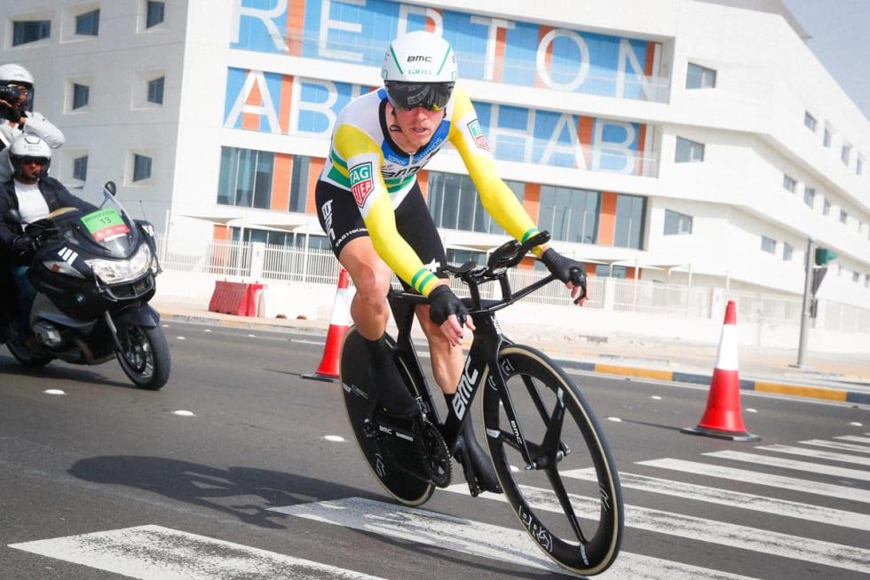 VERDIFULL: Rohan Dennis' temposeiere kan gi nøkkelresultater i etapperitt. Her fra Giro d'Italia 2018. Foto: Cor Vos.