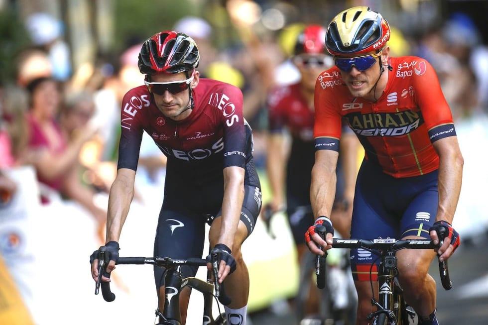 DAGEN FØR DAGEN: Rohan Dennis under den 11. etappen av Tour de France, dagen før det kontroversielle bruddet. Foto: Cor Vos.