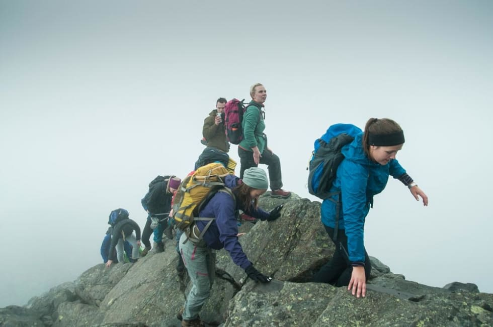 Fjellfilm kan være en god anledning til å gå Besseggen. Foto: Alexandra Jarna