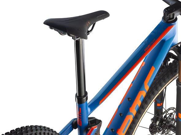 INTEGRERT: BMC har allerede integrert senkepinne på stisykkelen SpeedFox, nå har de også det på rittsykkelen FourStroke.
