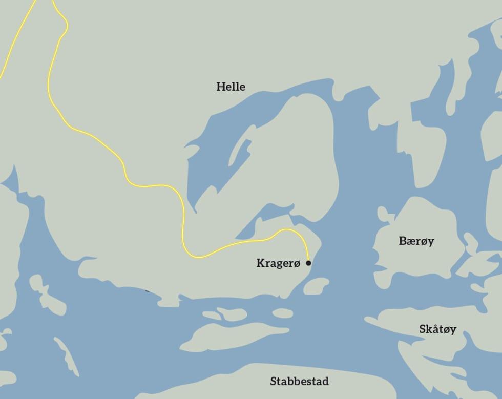 Skjærgårdsidyll_Kragerø_Kart