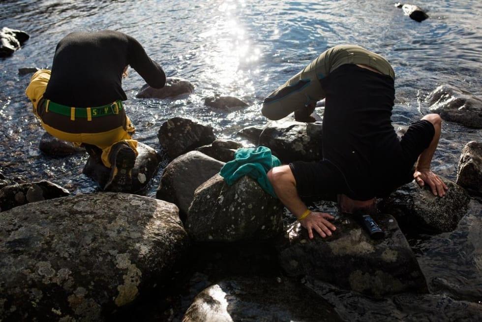 Fjelldusj på fjellfilmvis. Foto: Kristine Lindebø