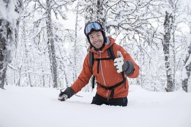 VIL BEHOLDE SKOGSKJØRINGA: Destinasjonssjef Martin Letzter protesterer mot en utbygging som kan ødelegge kjøringen i Totteskogen. Arkivfoto: Skistar