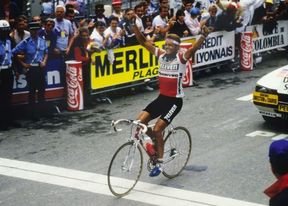 Norges første: Seieren på toppen av Luz Ardiden vil for alltid huskes som Norges første etappeseier i Tour de France.