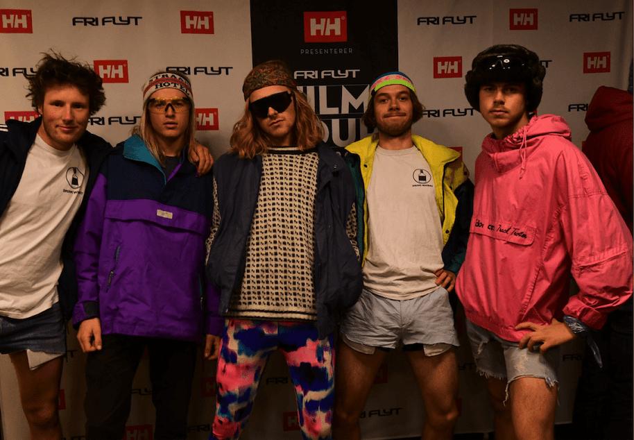 MEIERIET: Sogndal er gjerne et høydepunkt under Fri Flyt Film Tour. Der er temaet på etterfesten hot dog party. Foto: Kathrine Christensen