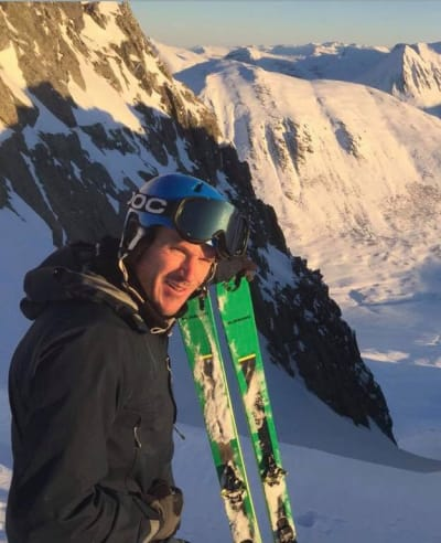 LOKAL GUIDE: Bjørn Kruse bor og jobber i Romsdal. Foto: Privat