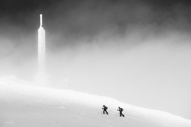 SNART OPPE: Masta er målet. Foto: Anki Grøthe