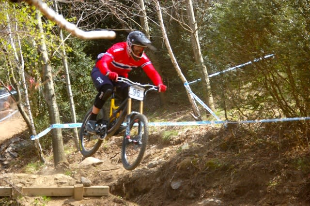KVALIK-KID: Lars Sandviken kom til finalen i Lourdes.