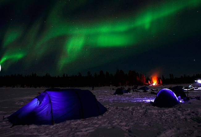 Vintervakkert i nord. Foto: Fjällräven