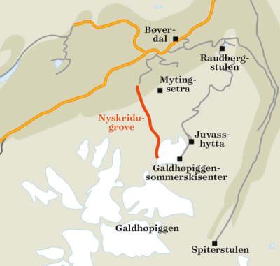 Norges_råeste_sommertur_Kart