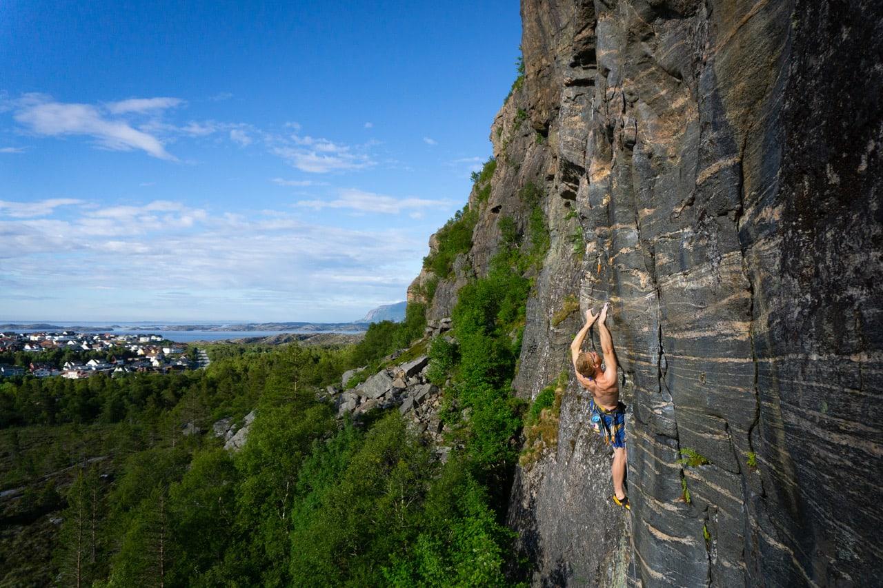 kristiansund klatring